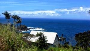 Aussicht Überfahrt der Insel