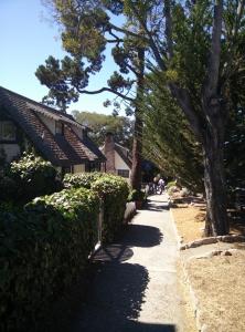 Typische Häuserreihen in Carmel