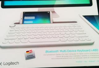 Technischer Begleiter: Logitech Keyboard K480
